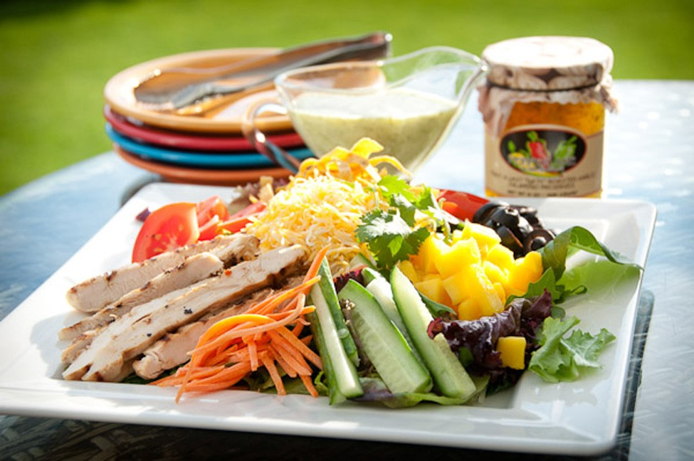 Salad Dressing With A Kick