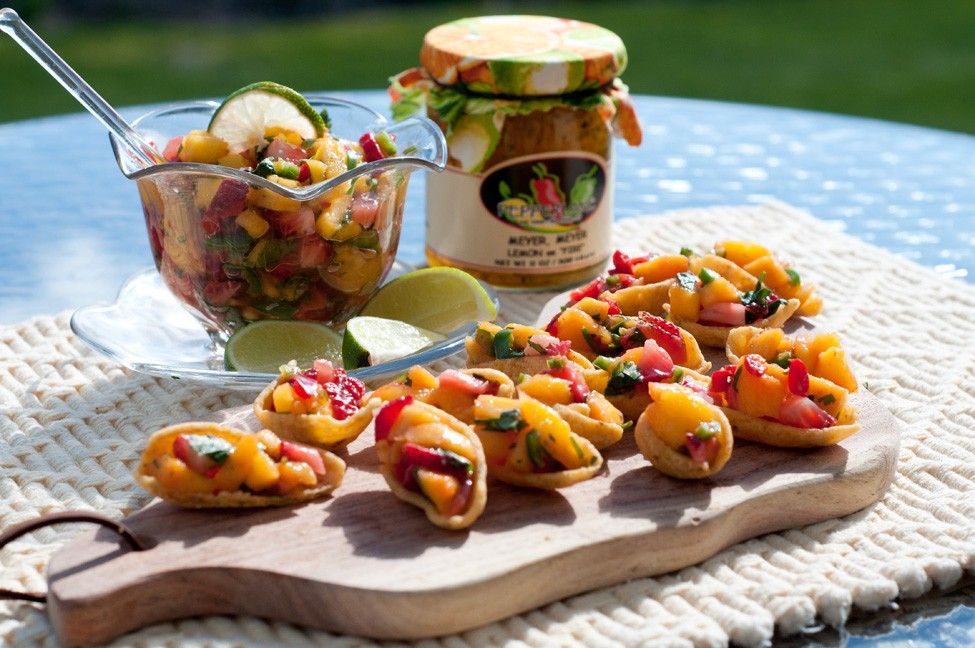 Sweet Heat Tropical Salsa