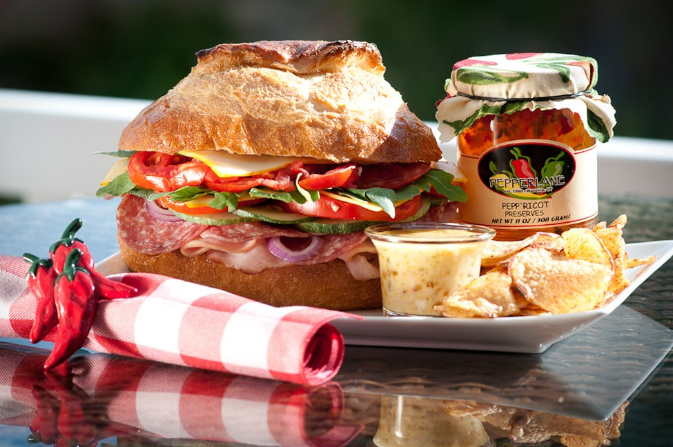 The Weekender Sandwich with Pepp'ricot Mayonnaise